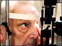 Eye examination (Science Photo Library/ Gusto)