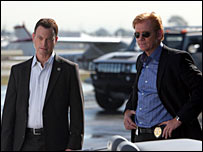 Gary Sinise and David Caruso