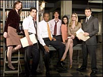The cast of Conviction