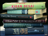 The shortlisted titles