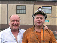 Glyndwr Roberts and miner