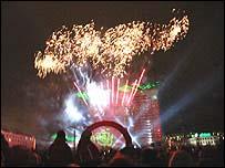 Murmansk fireworks