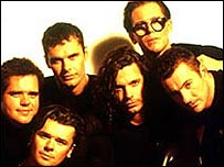 INXS (photo by Herb Ritts)