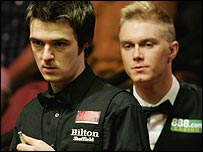Michael Holt and Paul Hunter