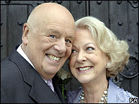 Fred Elliott and Beverley Unwin