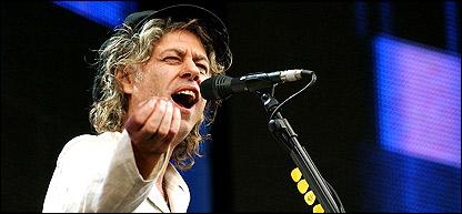 Bob Geldof at Live 8