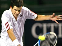 Tim Henman has suffered from tennis elbow