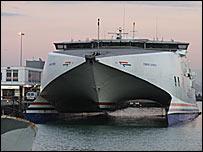 Condor ferry terminal, Weymouth