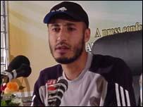 Al-Saadi Gaddafi, son of the Libyan leader Muammar Gaddafi