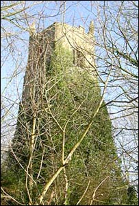 Church tower at Old Kea, Cornwall (photo courtesy Gorsedd Kernow)