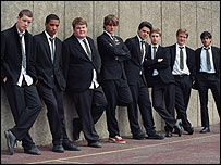 The young stars of The History Boys