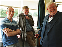 Nicholas Hytner, Alan Bennett and Richard Griffiths