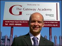 Head teacher Gary Pratt