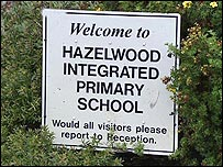 Hazelwood sign