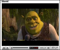 Shrek  screenshot on YouTube
