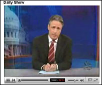 Daily Show screenshot on YouTube