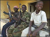 Child soldiers in Congo