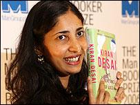 Booker prize winner Kiran Desai