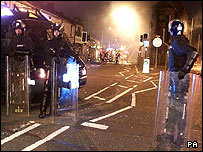 Burnley riots