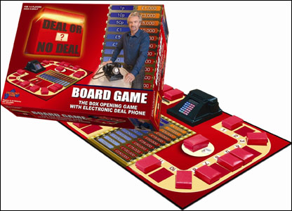 Deal or No Deal Electronic Board Game