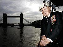 Arctic Convoy veteran Commander Eddie Grenfell