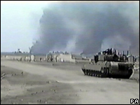 US Army footage of fighting in Basra