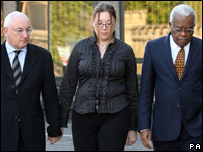 (l to r) David Mannion, Chelsey Lloyd and Trevor McDonald