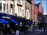 Street in Harrogate, North Yorkshire