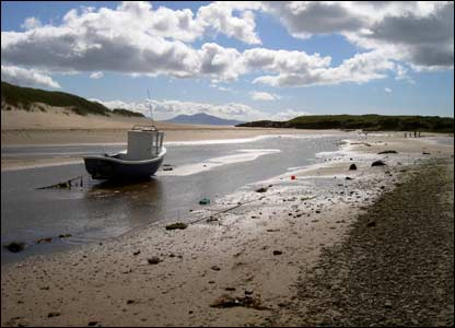 Looking south from Aberffraw (David Allard )