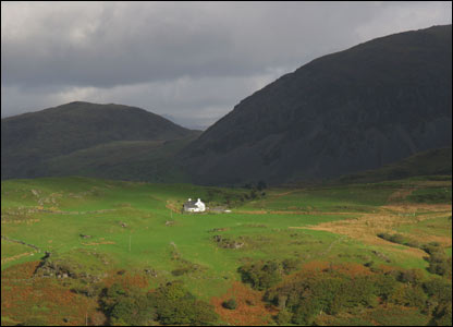 A house at the foot of Manod Mawr near Blaenau Ffestiniog (Rory Trappe)