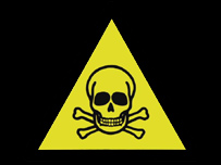 Chemical danger sign