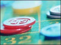 Gambling chips, BBC/Corbis