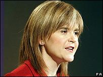 SNP deputy leader Nicola Sturgeon MSP
