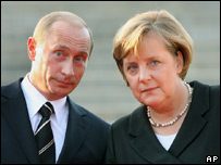 President Putin and Chancellor Merkel
