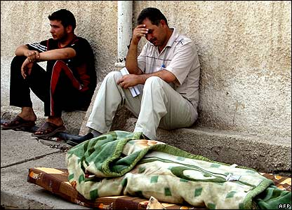 Mourners after gun attack on Shaabiya