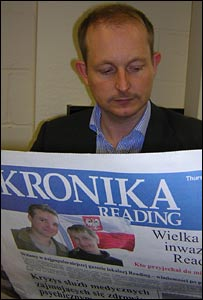 Reading Chronicle editor Simon Jones