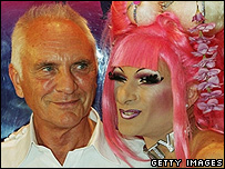Terence Stamp at the premiere of Priscilla: Queen of the Desert