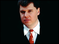 Lemony Snicket author Daniel Handler (Courtesy of HarperCollins Childrens)