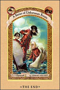 Cover of The End (Courtesy of HarperCollins Childrens)