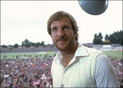 Ian Botham in 1981