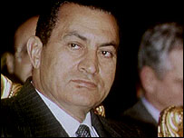 Mubarak pictures in 1991