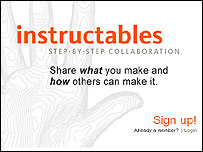 Instructables website