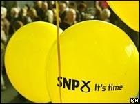 SNP balloons