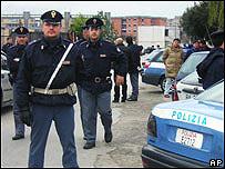 Police in Naples