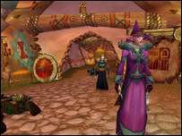 Scene from World of WarCraft computer game