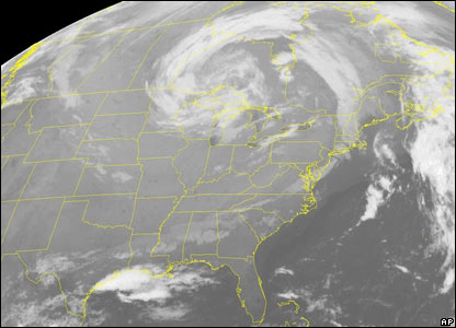 Satellite weather picture