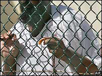 Detainee at Guantanamo Bay