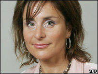 Swedish trade minister Maria Borelius