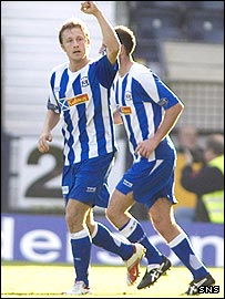 Gary Wales was on target for Kilmarnock