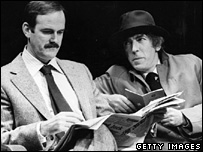 John Cleese and Peter Cook